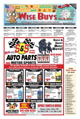 WB 10-02-18 by Wise Buys Ads & More - issuu