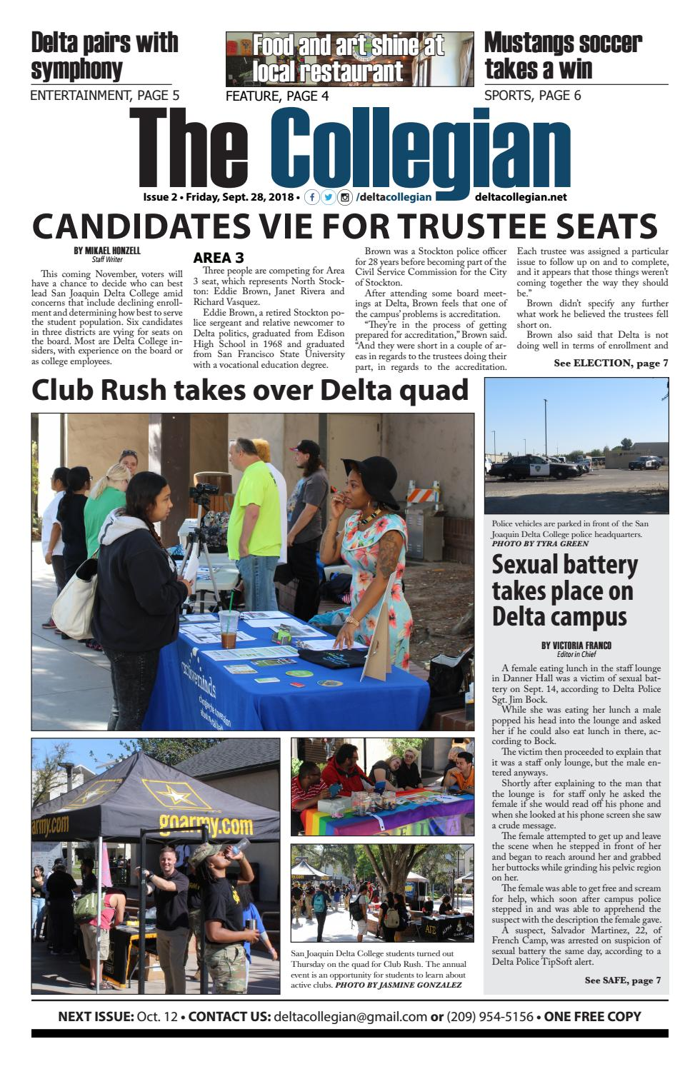 The Collegian -- Published Sept  28, 2018 by The Collegian