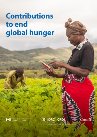CIFSRF Report - Contributions to end global hunger by IDRC