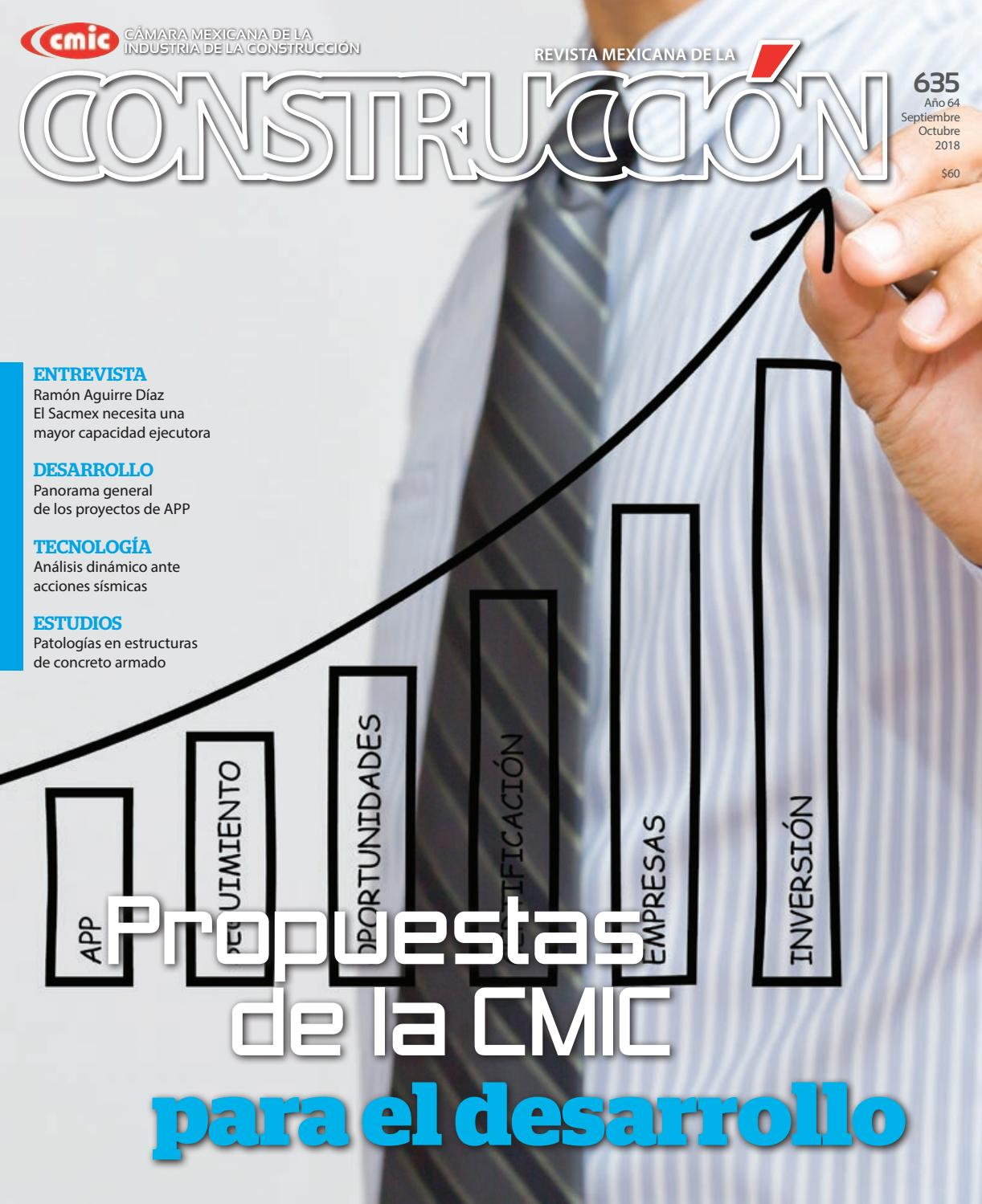 Revista Mexicana de la Construcción RMC 635 Septiembre-Octubre 2018 ...