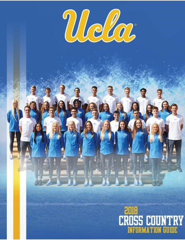 2018 UCLA Cross Country Information Guide by UCLA Athletics
