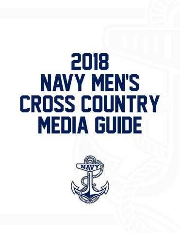 2e745edf5fe 2018 Men's Cross Country Guide by Naval Academy Athletic Association ...