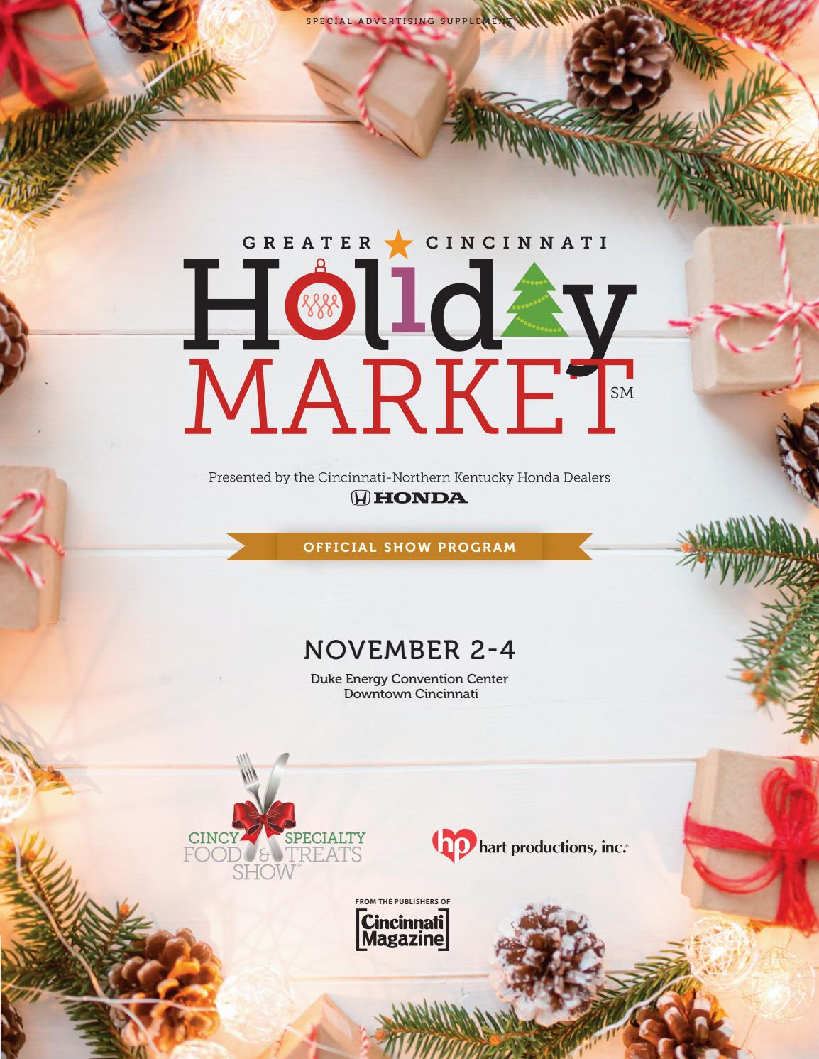 Holiday Market 2018 by Cincinnati Magazine - issuu