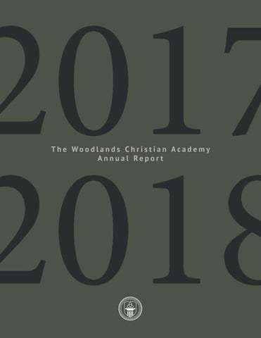 Woodlands Christian Annual Report 2017-2018 by Woodlands