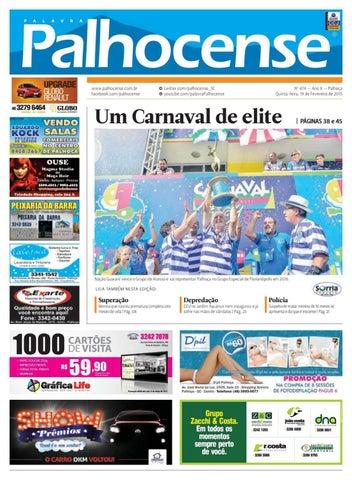 Jornal Palavra Palhocense nº 474 by Portal Academia do Samba