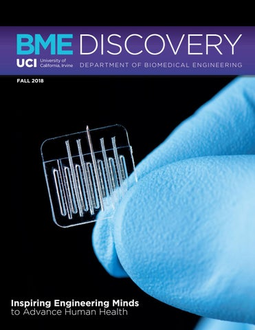 UCI Biomedical Engineering Discovery Magazine Fall 2018 by