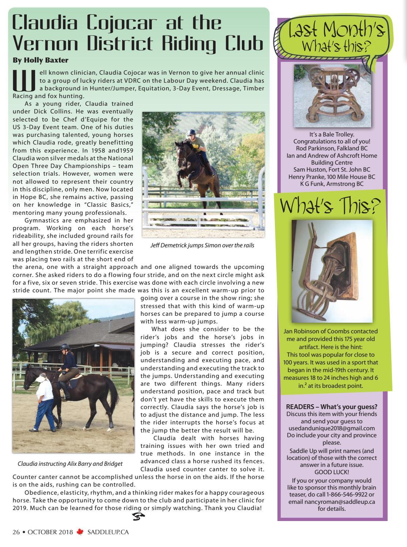 Saddle Up-Oct 2011 by Saddle Up magazine - Issuu