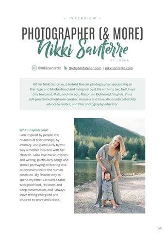Page 57 of Interview: Nikki Santerre