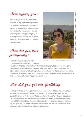 Page 87 of Interview: YouTuber, Amanda Wan