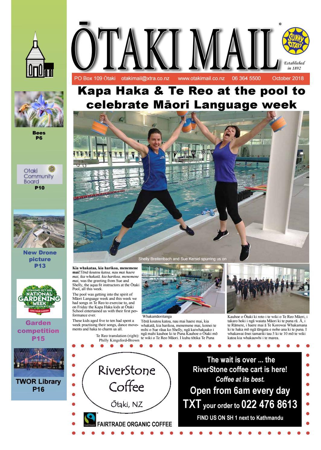 Otaki Mail October 2018 by Otaki Mail - issuu