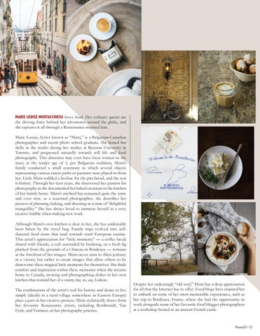 Page 21 of RENAISSANCE LIGHT & CULINARY DELIGHTS