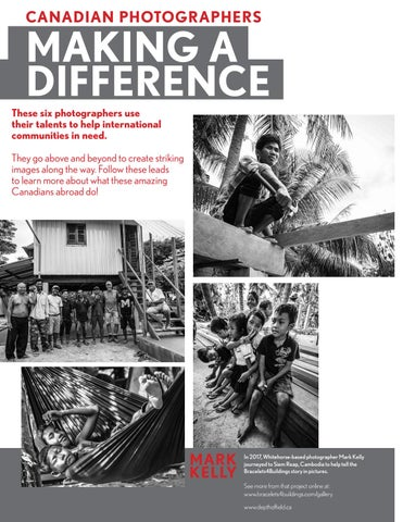 Page 32 of Canadian photographers making a difference