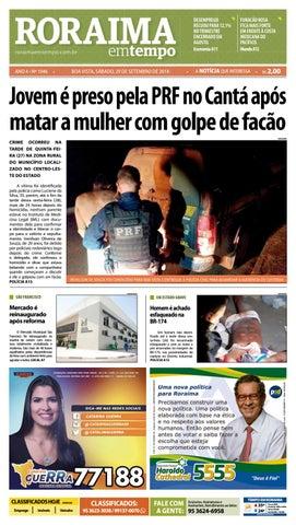 Jornal Roraima em tempo – edição 1046
