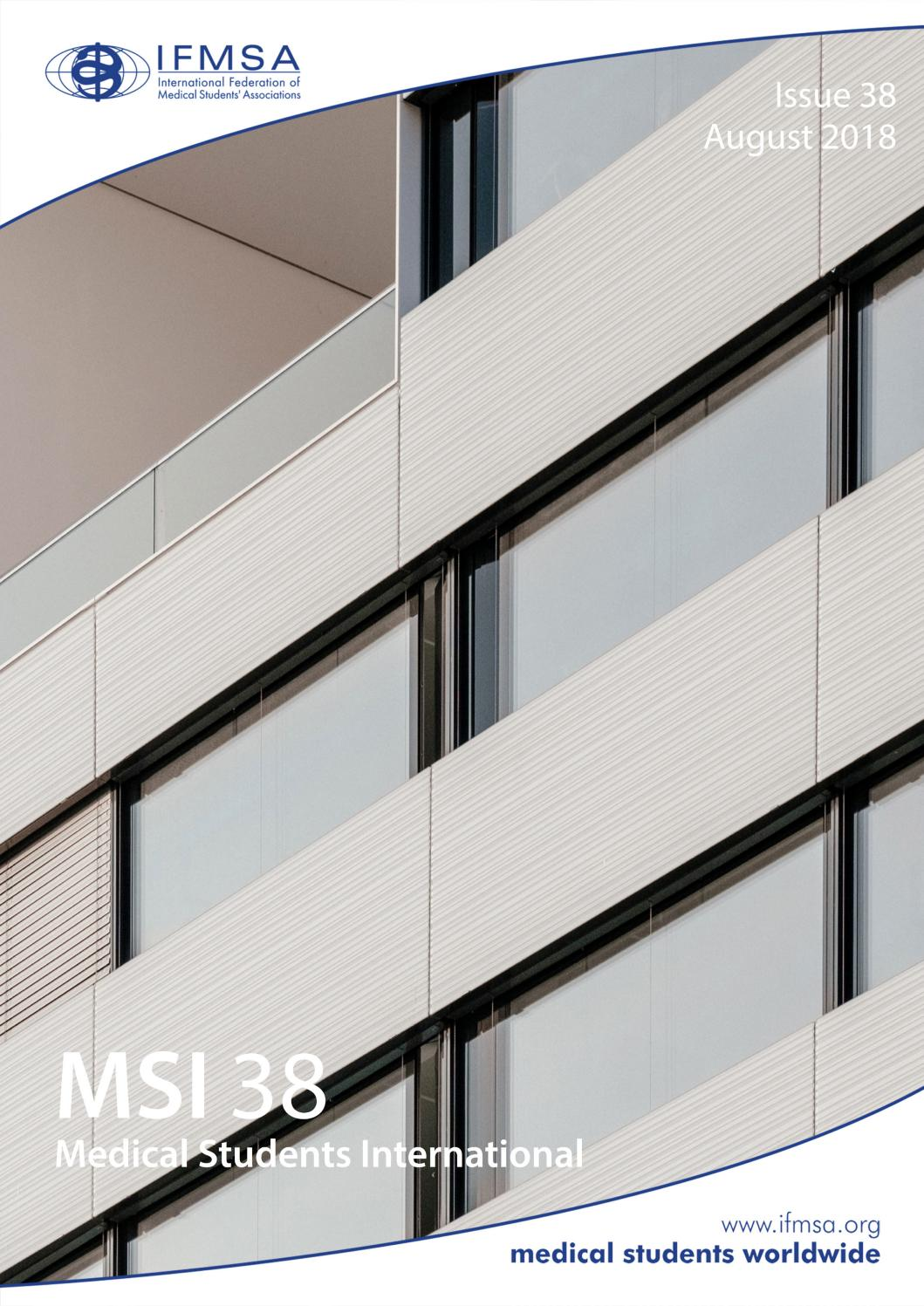 Msi 38 by international federation of medical students associations issuu