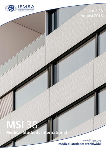 MSI 38 by International Federation of Medical Students