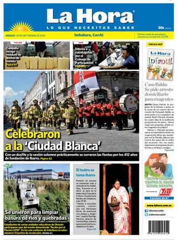 50ad2be2fac0 Imbabura 29 de septiembre de 2018 by Diario La Hora Ecuador - issuu