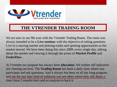 How a market profile vtrender