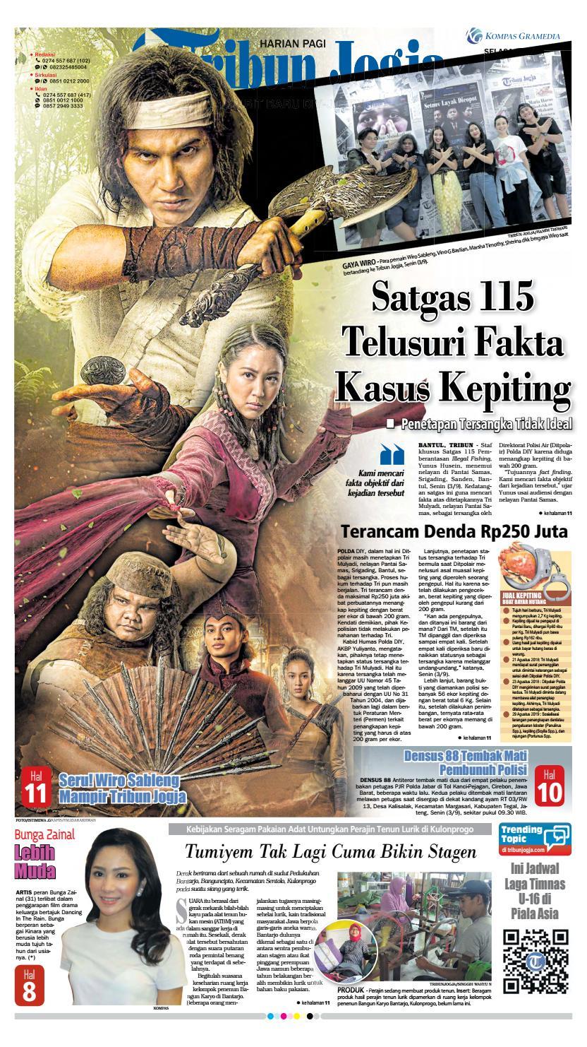 Tribun Jogja 04 09 2018 By Issuu Produk Ukm Bumn Pusaka Coffee 15 Pcs Kopi Herbal Nusantara Free Ongkir Depok Ampamp Jakarta