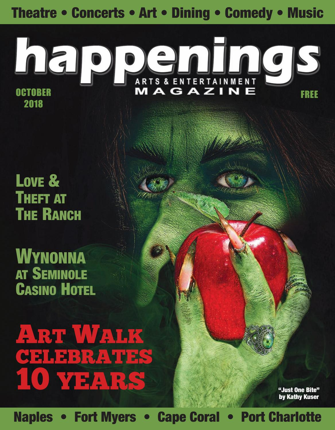 October 2018 Happenings Magazine By Sw Fl Issuu Buy 1 Get Free Monopoly Cosmetic Organizer Tas Treveler