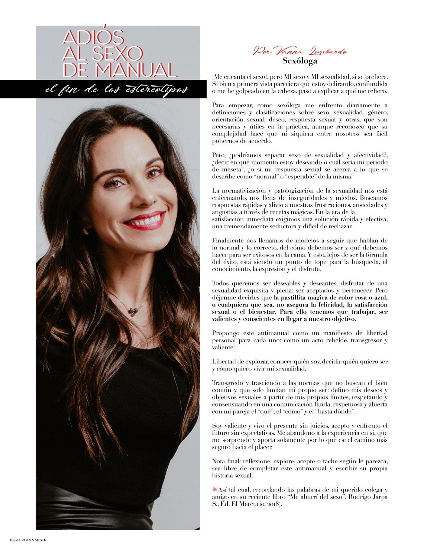 Revista Sarah Edición 7 by Vida Magazine - issuu