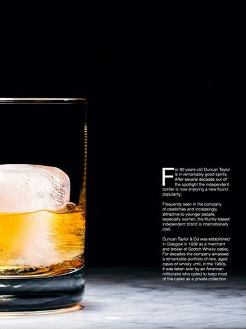 Page 31 of Duncan Taylor the independent whisky brand