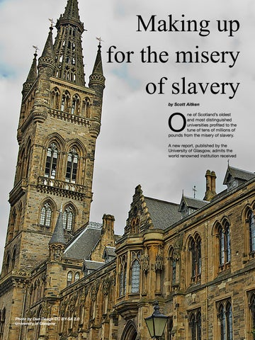 Page 80 of Glasgow University acknowledges historic links to slavery