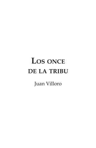 9673237a3 Los once de la tribu by Zyanya López - issuu