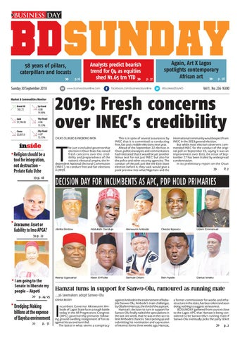 BusinessDay 30 Sep 2018 by BusinessDay - issuu