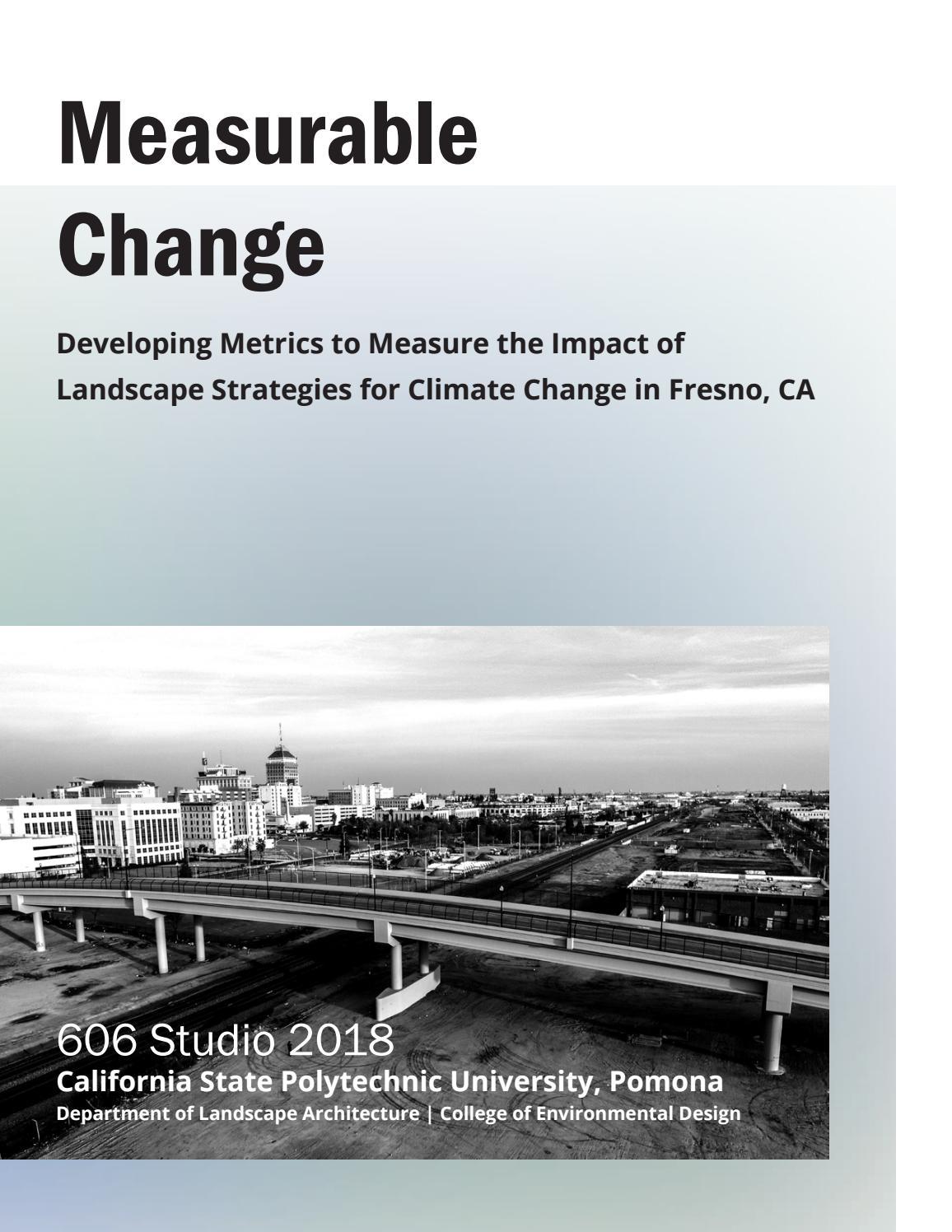 Measurable Change - Cal Poly Pomona - 606 Studio Master's