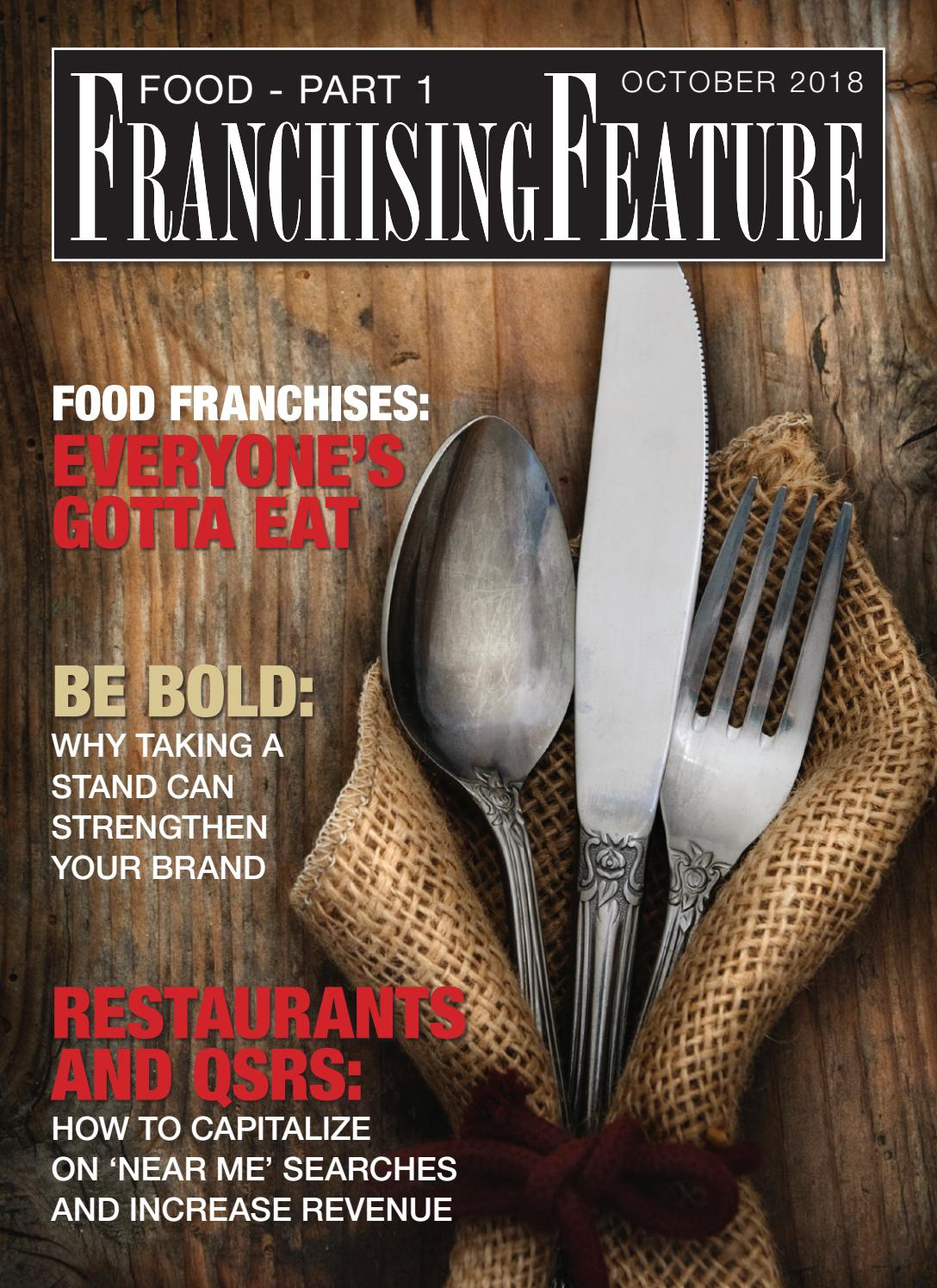 FOOD And FRANCHISING PART 1 by CGB Publishing - issuu
