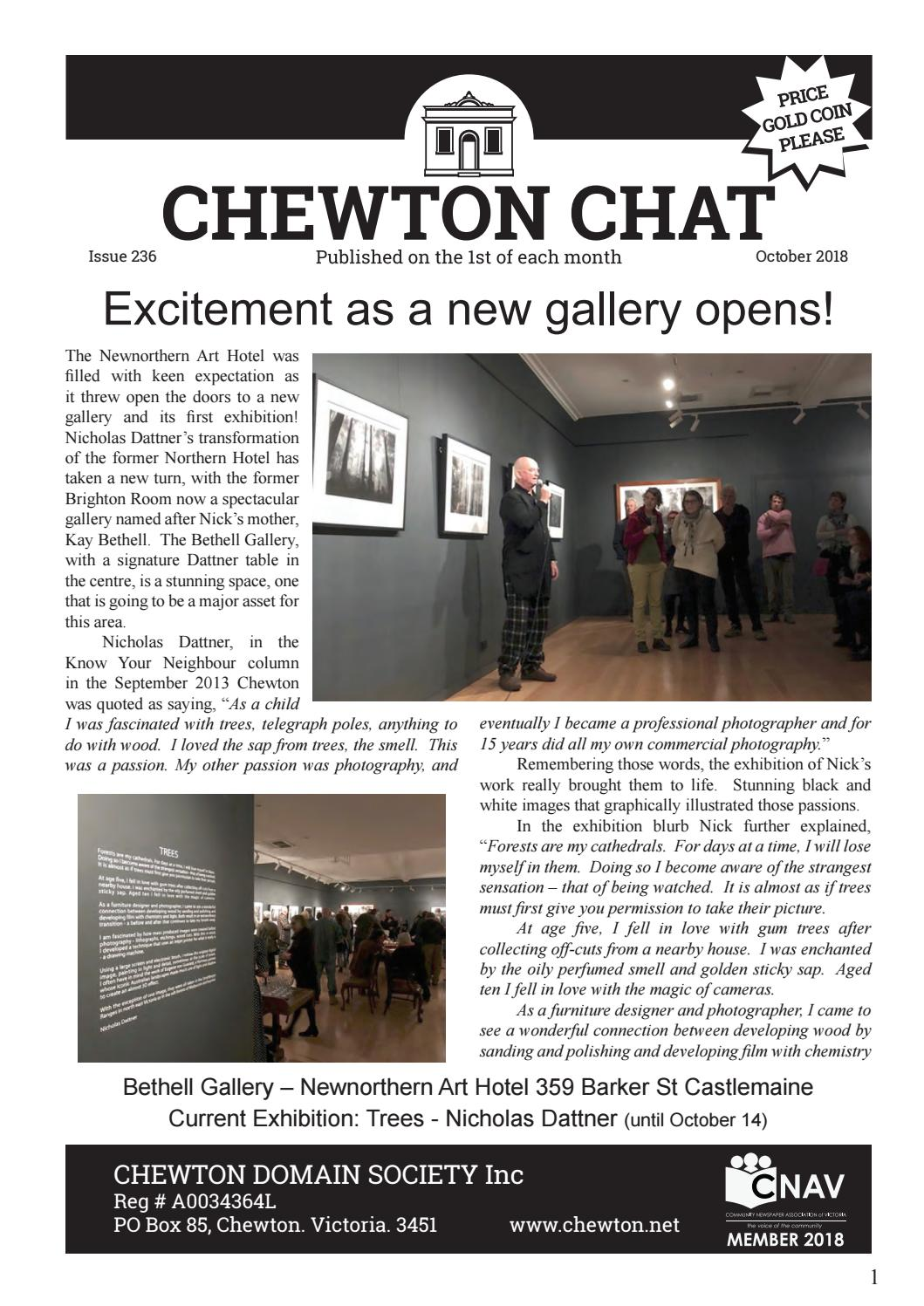 Chewton Chat October 2018 By Chewton Chat Issuu