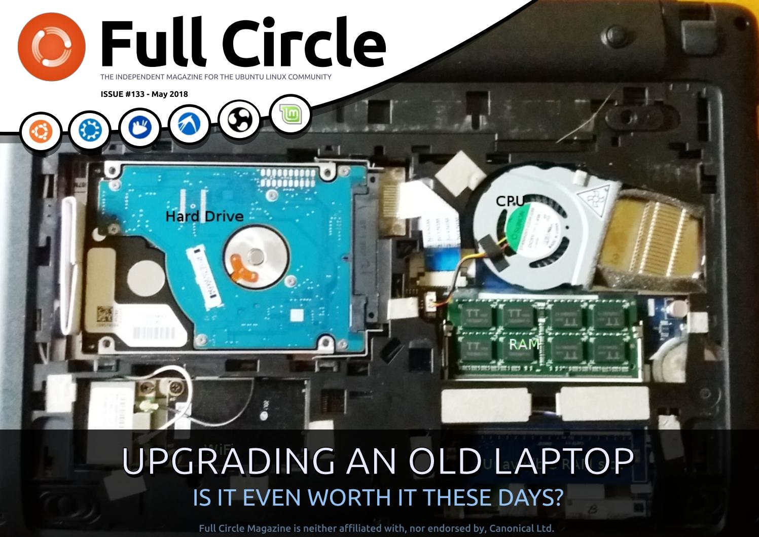 Full Circle Magazine 133 By Ronnie Tucker Issuu Stun Gun Circuit Diagram For Together With Sa 26 Furthermore