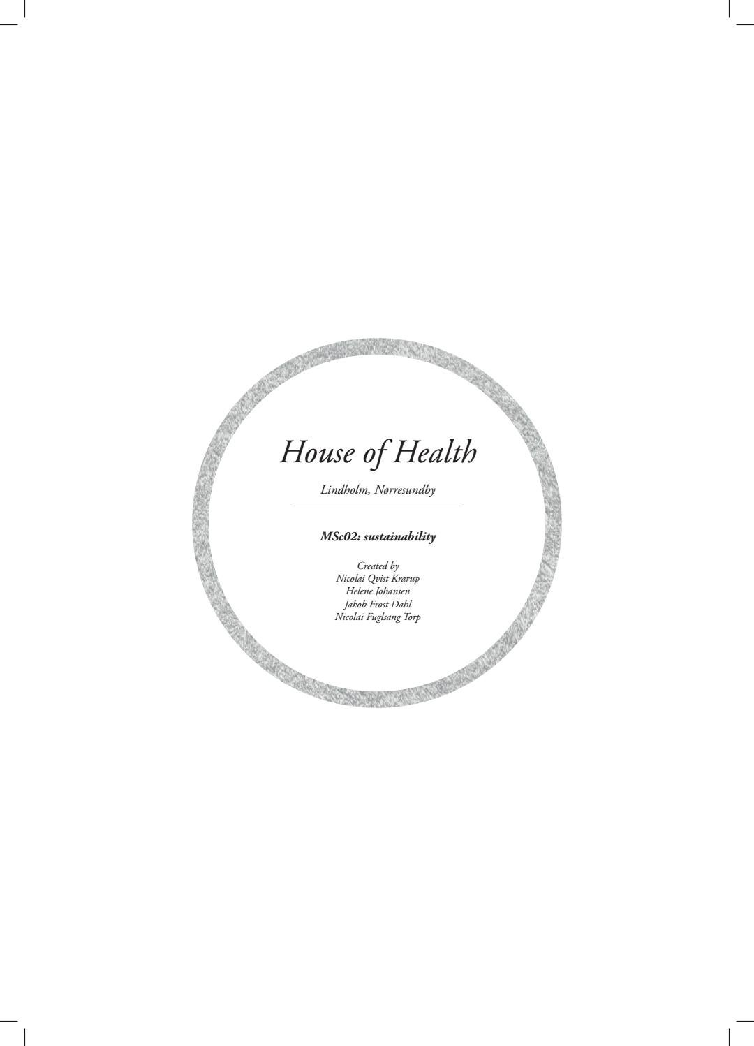 House Of Health By Jakob Frost Dahl Issuu