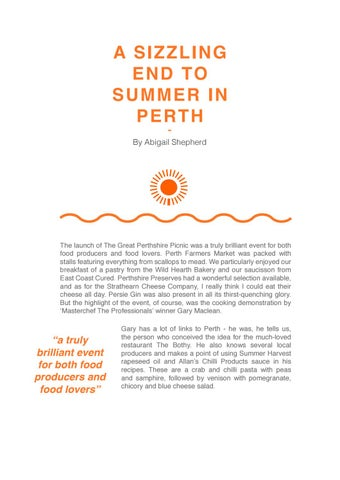 Page 19 of A Sizzling End to Summer in Perth