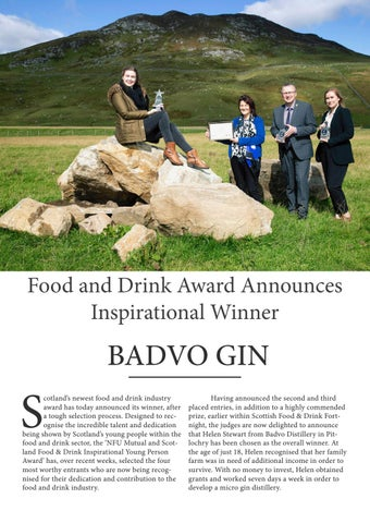 Page 32 of Food and Drink Award Announces Inspirational Winner
