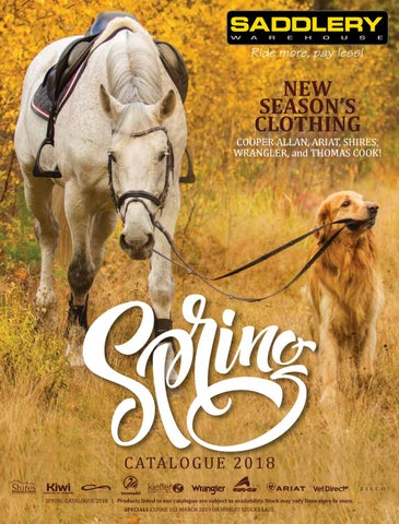 meet 2d95a 3619c Spring Catalogue 2018