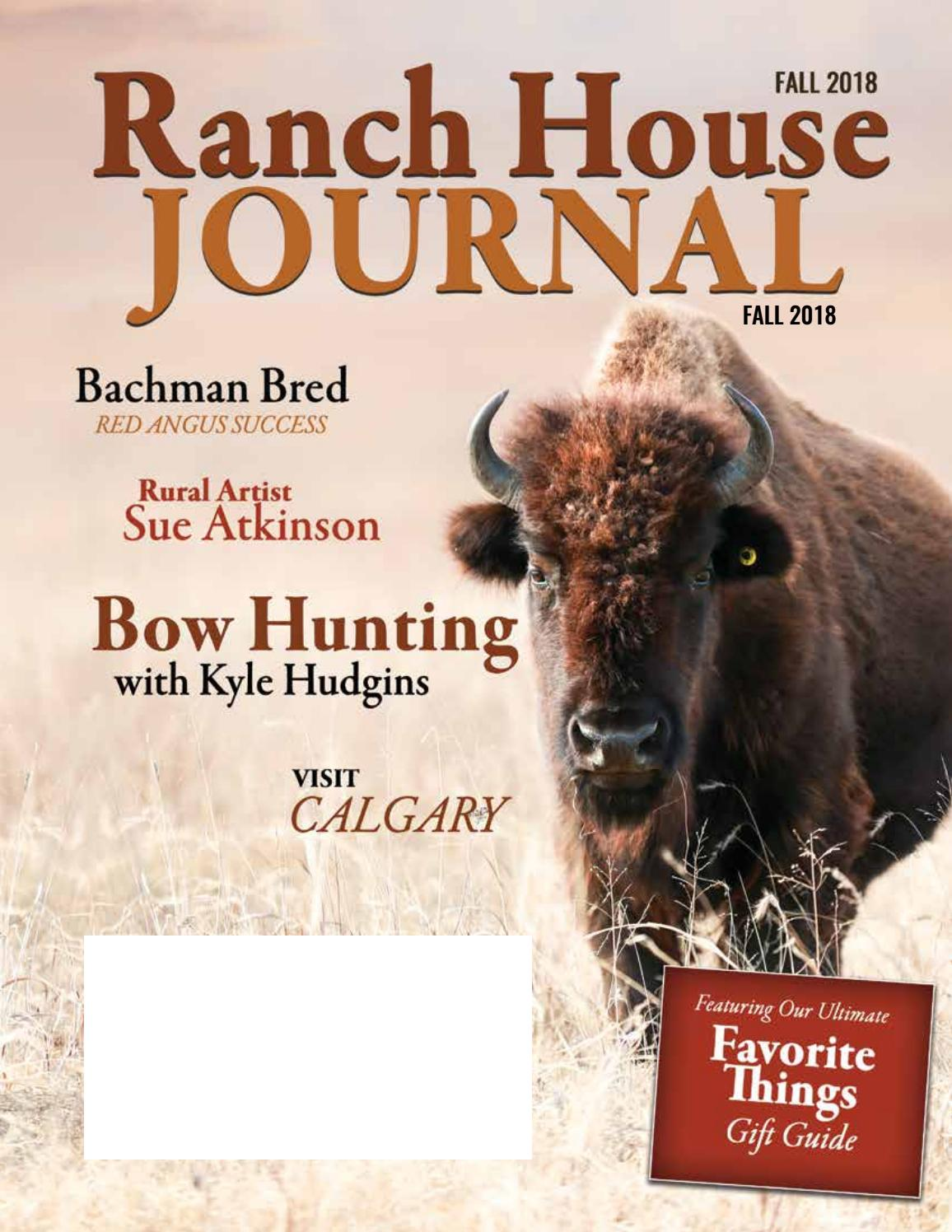 Ranch House Journal Fall 2018 by Ranch House Designs - issuu