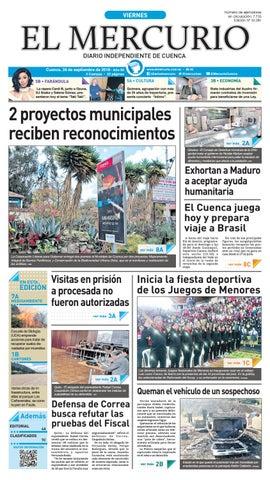 hemeroteca-28-09-2018 by Diario El Mercurio Cuenca - issuu 8cb47c0cf13