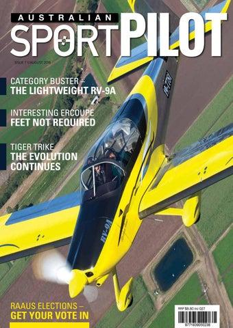 Australian Sport Pilot July 2018 by Recreational Aviation Australia