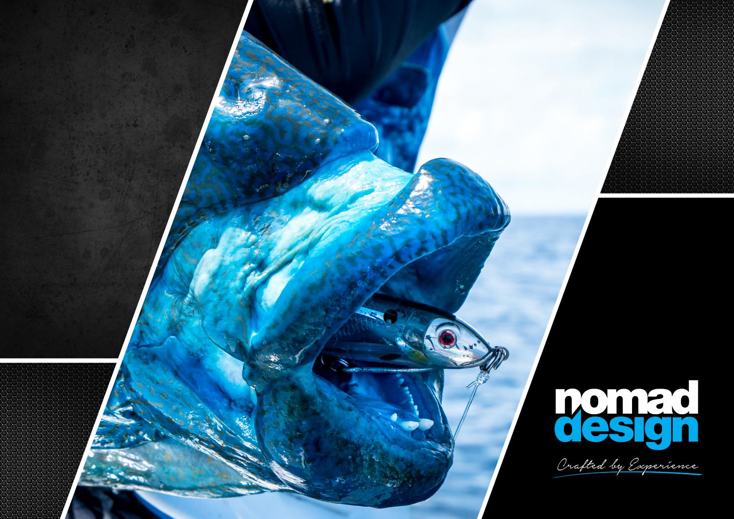 Nomad Design Tackle Usa Product Guide By Issuu Lure Minnow 85 Cm 68gr Crank Bait Treble Hook Crankbait