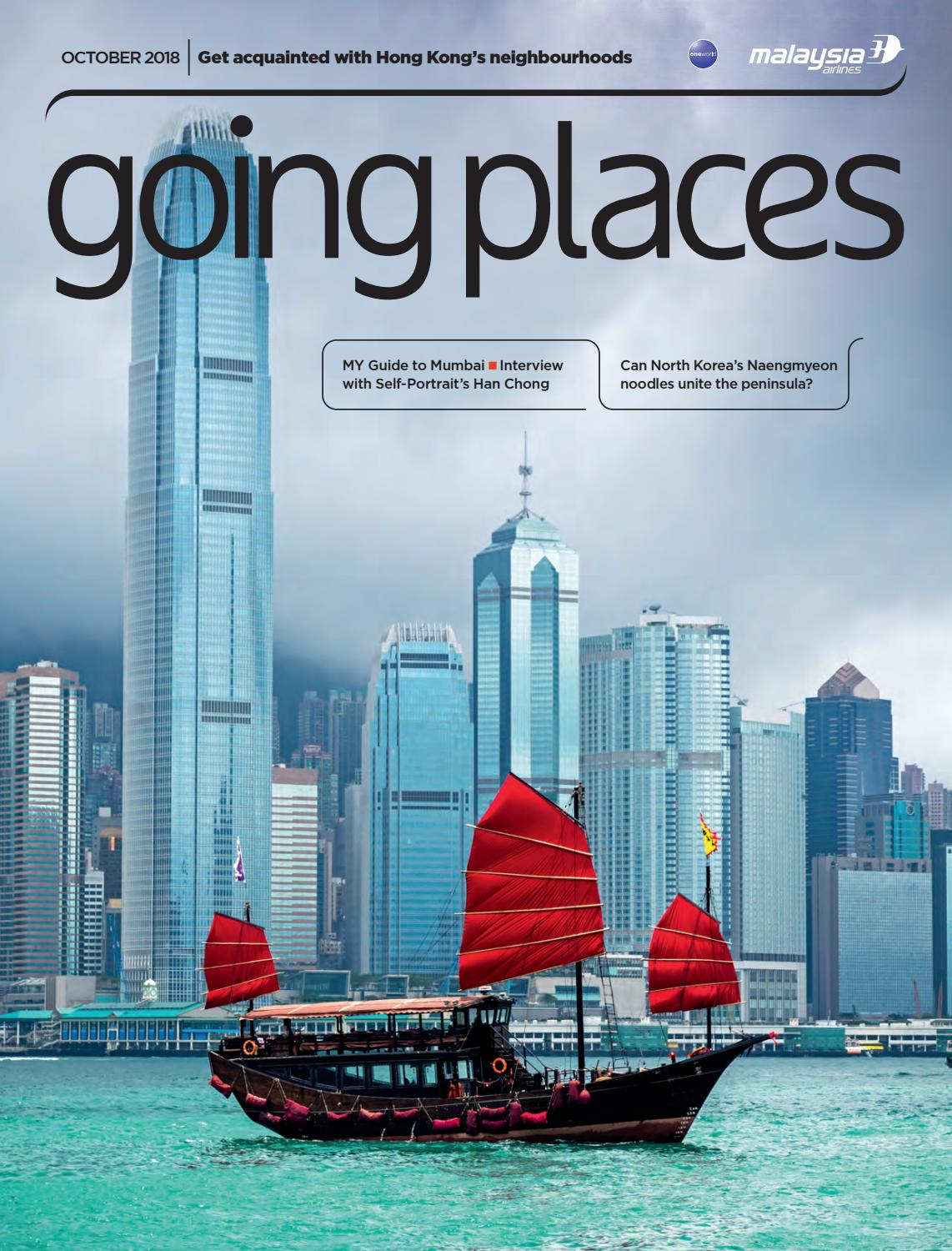 Going Places October 2018 By Spafax Issuu