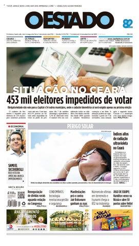 01 10 2018 – Edição 23380 by Jornal O Estado (Ceará) - issuu 0f22e913f385d