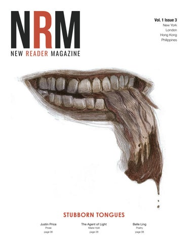 New Reader Magazine Vol 1 Issue 3 Stubborn Tongues By