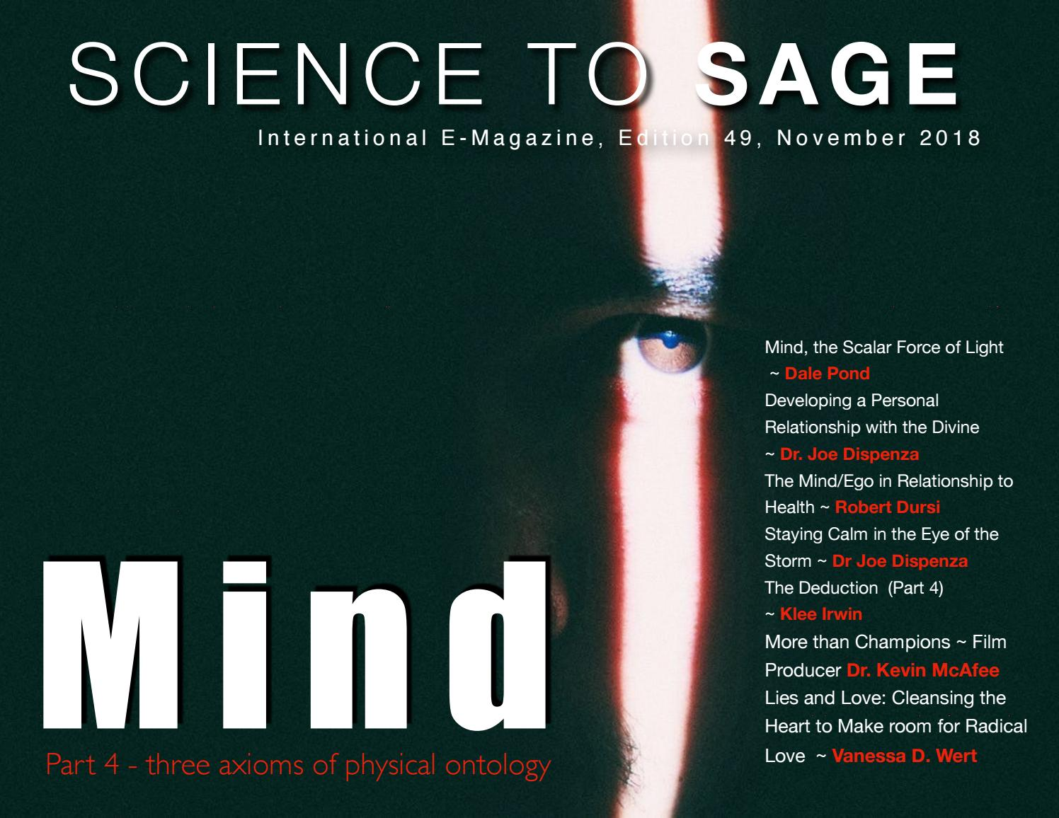 Mind: Celestial, Relationships and Healing by Science to Sage - issuu