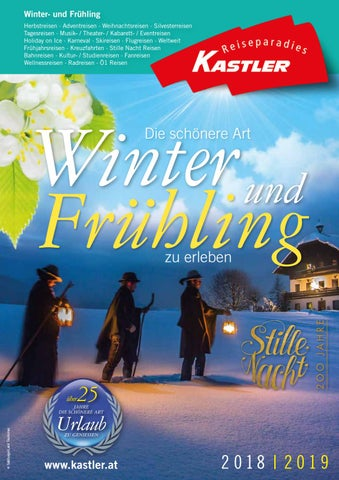 Katalog Winter Und Frhling 2018 2019 By Reiseparadies Kastler Issuu