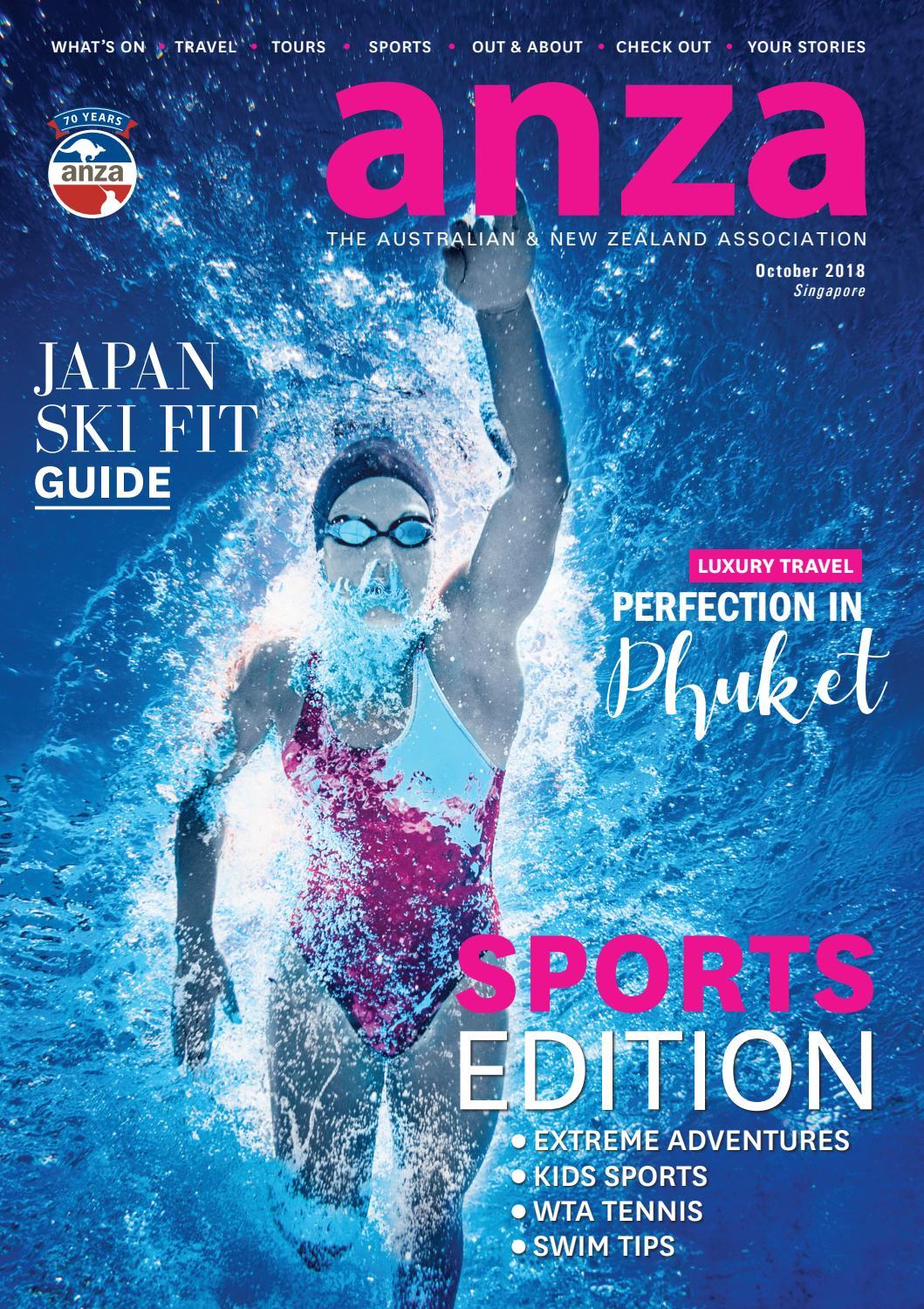 6f69c78ebc ANZA Magazine October 2018 by ANZA Singapore - issuu