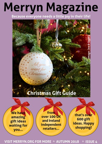 Christmas Gift Guide Magazine.Merryn Magazine Issue 4 By Merryn Issuu