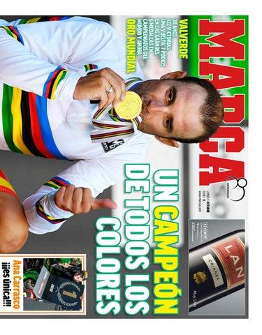Diario Marca (Lunes 1-Octubre-2018) by Gerardo Rey - issuu 26c30e9f40b47