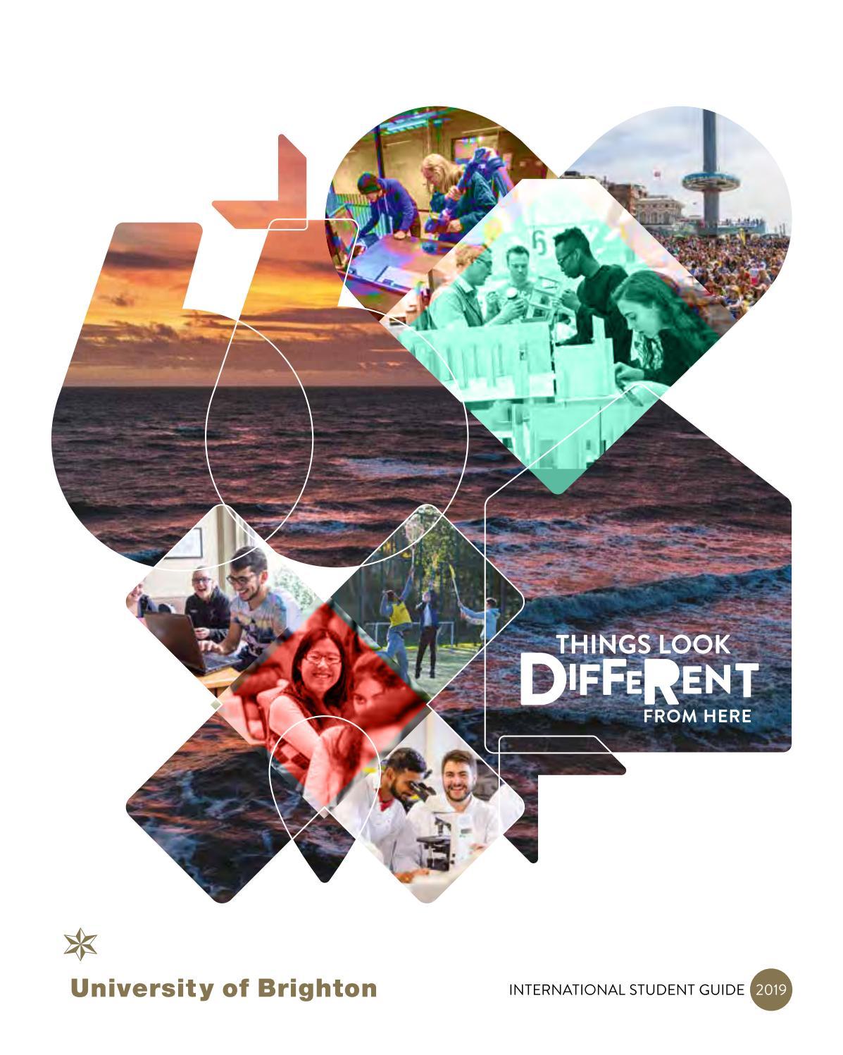 International Student Guide 2019 By University Of Brighton Issuu