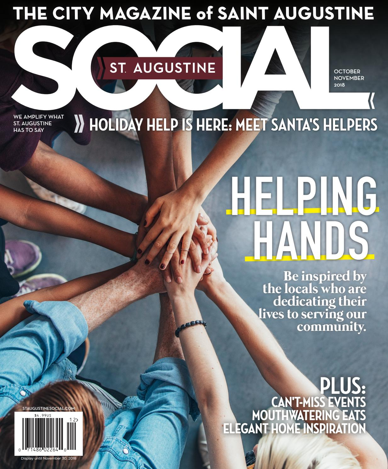 St  Augustine Social - Oct/Nov 2018 by Occasions Media Group